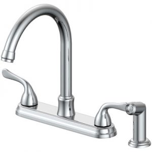 Brushed Nickel Single Handle Lavatory Faucet